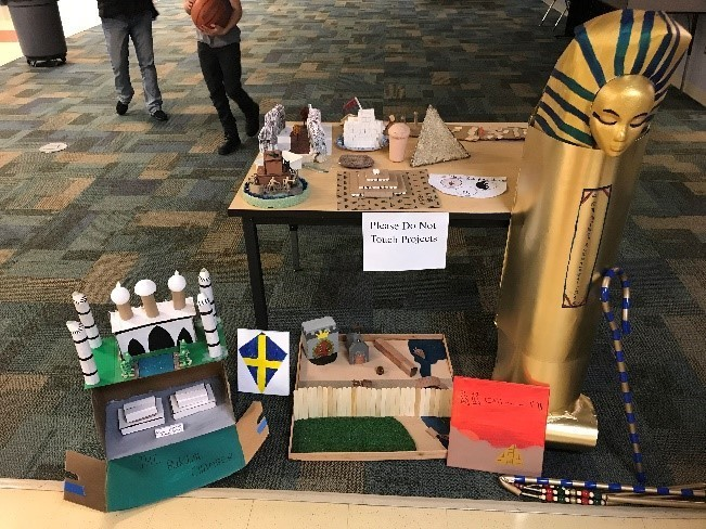 World History Projects - 7th Grade
